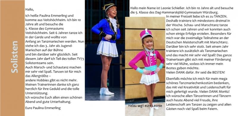 26 Solisten Leoni Schiesser Paulina Emmerling,