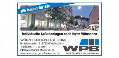 30 Würzburger Pflasterbau